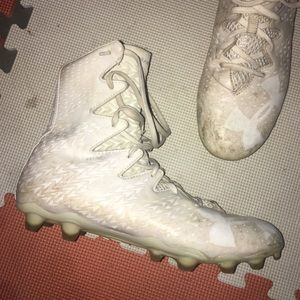 Under Armour high rise cleats